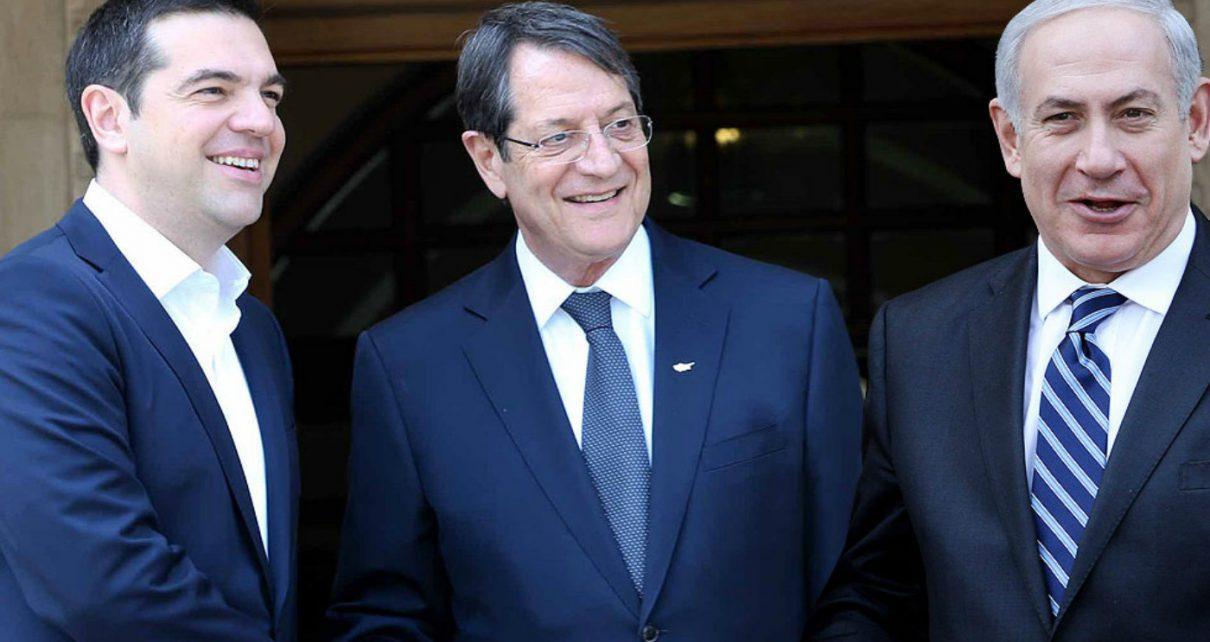 Κοινή στρατιωτική δύναμη ανακοίνωσαν Ισραήλ, Ελλάδα, Κύπρος