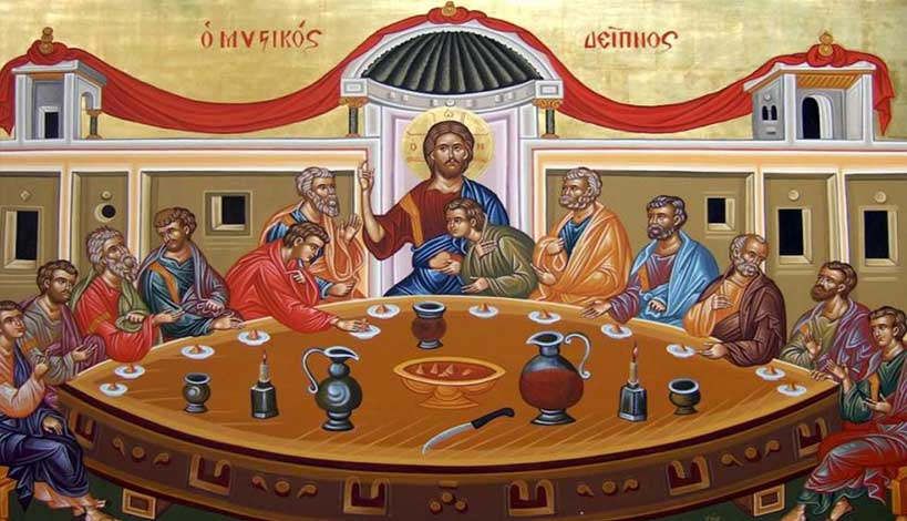 Ήταν ο Κύριος ημών Ιησούς Χριστός....Vegan;