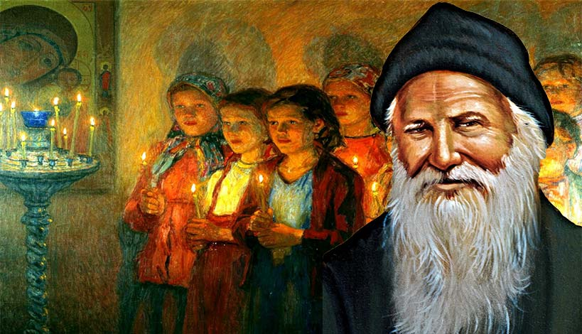 Γίνετε άγιοι και δεν θα έχετε κανένα πρόβλημα με τα παιδιά σας