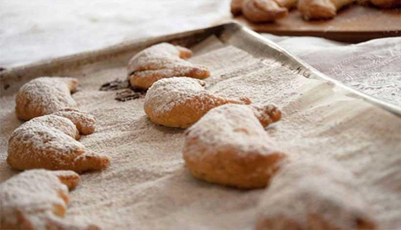 Aγιορείτικες Μοναστηριακές Συνταγές : Σκαλτσούνια