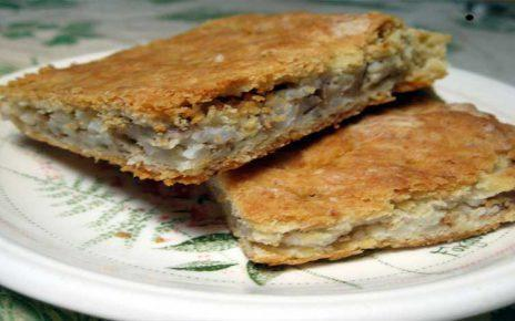 Aγιορείτικες Μοναστηριακές Συνταγές : Αγιορείτικη Καλαμποκόπιτα με μανιτάρια