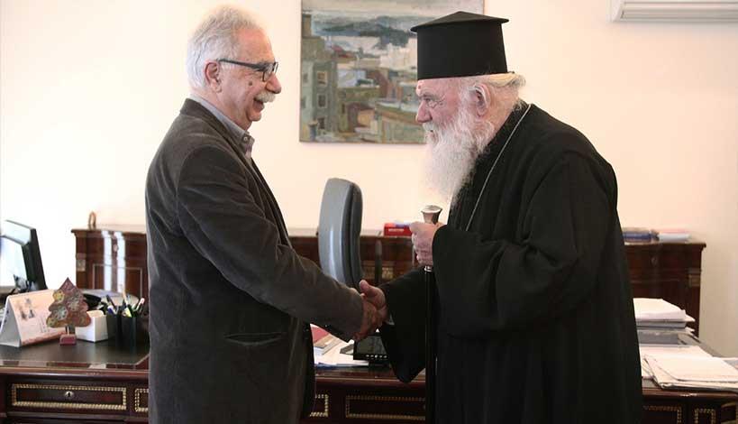 Την αντίδραση του Υπουργείου Παιδείας Κώστα Γαβρόγλου προκάλεσε η ανακοίνωση της Ιεράς Συνόδου για τα θρησκευτικά με την οποία η Εκκλησία ζητά η απόφαση του Συμβουλίου της Επικρατείας να είναι η βάση του διαλόγου με το υπουργείο.