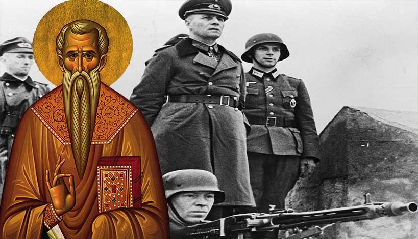 Ο Άγιος Χαράλαμπος και το θαύμα με τον Γερμανό Ναζί Στρατηγό - Αρχιμανδρίτης Δανιήλ Γούβαλης