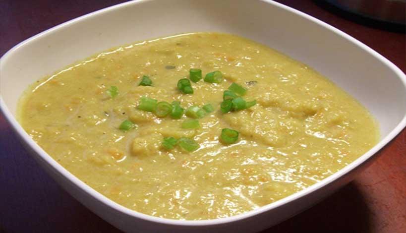 Σαρακοστή – Αγιορείτικες Μοναστηριακές Συνταγές : Κουνουπίδι σούπα