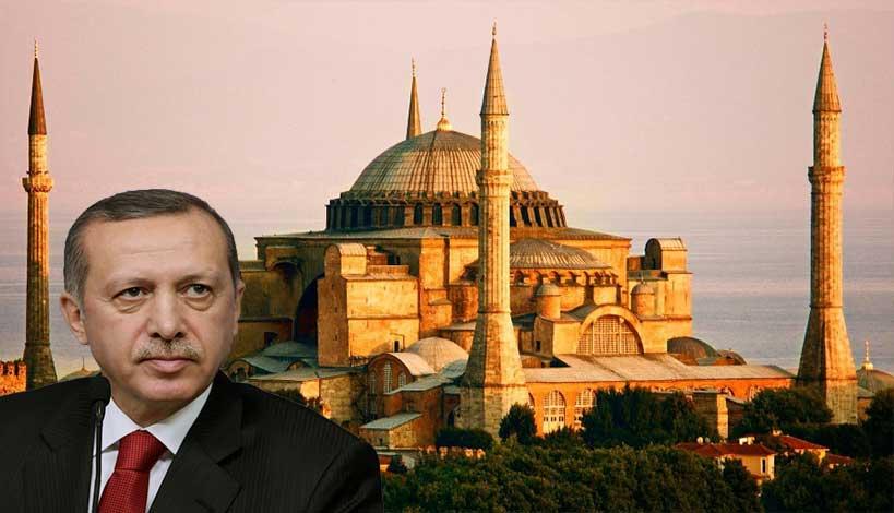 Έκανε πίσω ο Ρ.Τ.Ερντογάν -Παραμένει Μουσείο η Αγία Σοφία, υπάρχουν ανταλλάγματα;