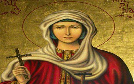 Ο Παρακλητικός Κανόνας στην Αγία Μαρίνα