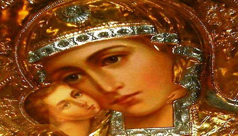 Εννέα σύντομες αλλά σωτήριες Ευχές προς την Παναγία μας, ώστε η Χάρις και η προστασία της να είναι πάντοτε κοντά μας