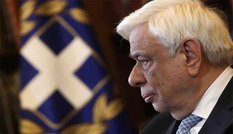 Τηλεφωνική επικοινωνία είχε ο Πρόεδρος της Δημοκρατίας Προκόπης Παυλόπουλος με στρατιωτικά φυλάκια και ποντοπόρα πλοία