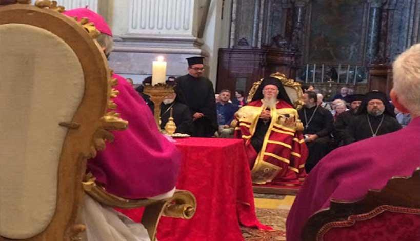Ο Οικουμενικός Πατριάρχης Βαρθολομαίος στη Μπολόνια ΕΙΚΟΝΕΣ - ΒΙΝΤΕΟ