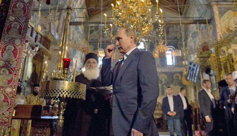 Βλαντιμίρ Πούτιν: Πως βαπτίστηκα μυστικά Χριστιανός Ορθόδοξος