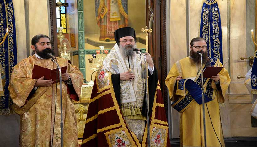 Μητροπολίτης Πατρών Χρυσόστομος: «Η Ελληνική γη αχνίζει από το αίμα των Ηρώων και Μαρτύρων μας»