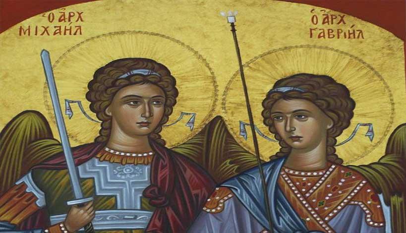 Ρωσία : Εμφάνιση των Αρχαγγέλων Μιχαήλ και Γαβριήλ σε εκκλησάκι