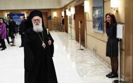 Στο στόχαστρο της Ι.Μ Πειραιώς ο Αρχιεπίσκοπος Αλβανίας Αναστάσιος