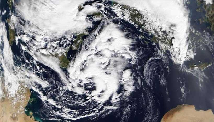 Έρχεται ο κυκλώνας «Ζήνων» - Γιάννης Καλλιάνος: Μην ξεγελιέστε από την πρόσκαιρη βελτίωση του καιρού
