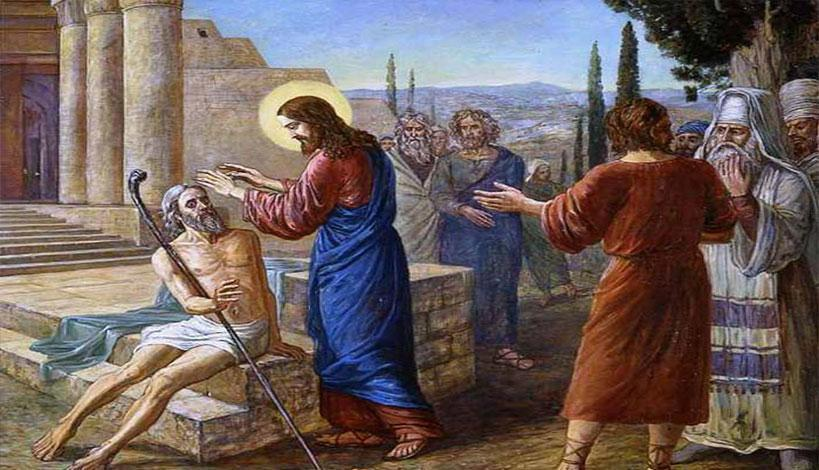 π.Αθανάσιος Μυτιληναίος: Κυριακή ΙΔ' Λουκά η Θεραπεία του τυφλού της Ιεριχούς