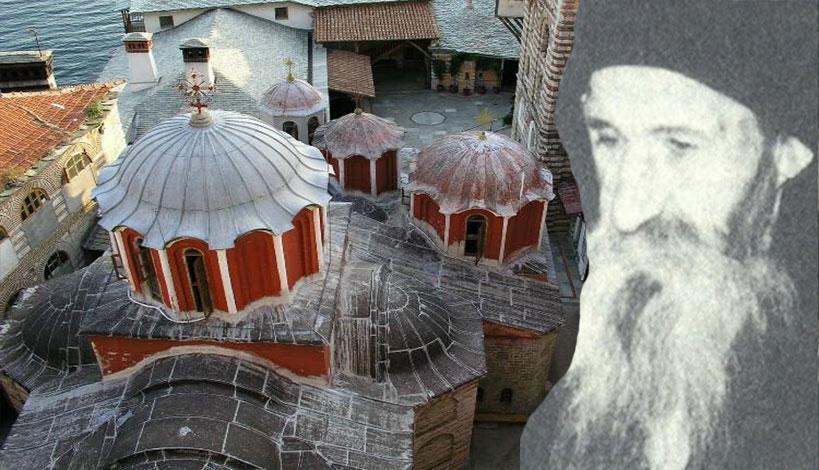 Άγιον Όρος: Ο Μοναχός Αυξέντιος Γρηγοριάτης θεωρός του ακτίστου φωτός