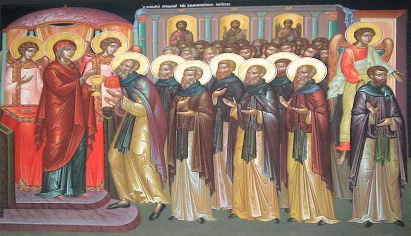Άγιον Όρος: Η Παναγία κοινωνεί τους μοναχούς