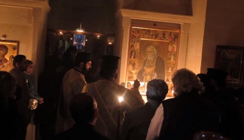 Μητροπολίτης Μόρφου κ. Νεόφυτος: Ο όσιος Σεραφείμ του Σαρώφ στην πέτρα της υπομονής