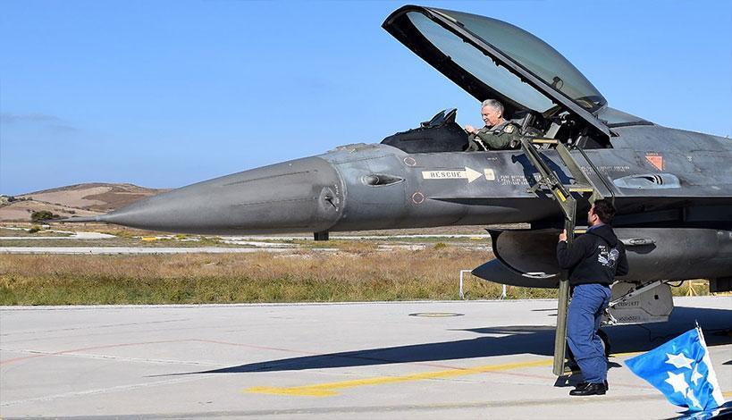 Σκύρος: Το «αεροπλανοφόρο» της Πολεμικής μας Αεροπορίας στο Αιγαίο