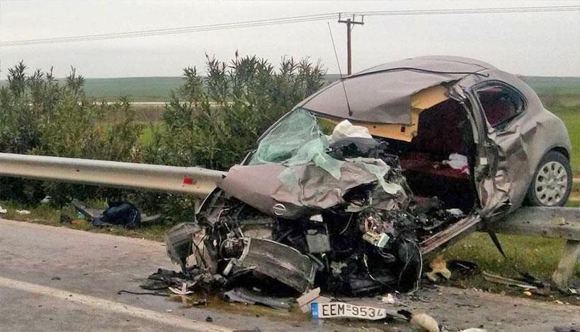 Κιλκίς: Τροχαίο ατύχημα με δύο μοναχές και ένα Ιερέα