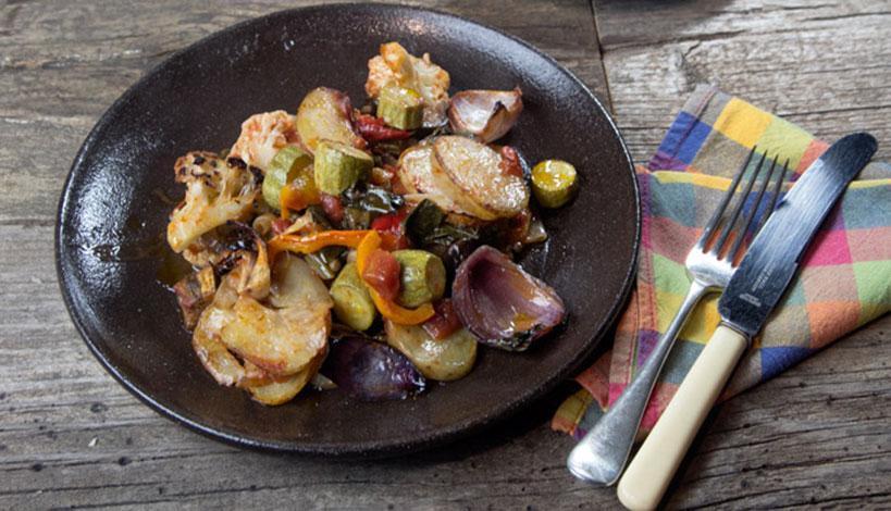 Σαρακοστή - Νηστίσιμες συνταγές: Μπριάμ με μανιτάρια
