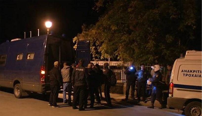 Συλλήψεις μεταναστών για βαριά αδικήματα στη Μυτιλήνη