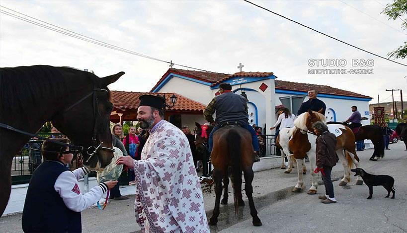 Την Κυριακή 22 Απριλίου 2018, παραμονή της εορτής του Αγίου Γεωργίου, η Τοπική Κοινότητα Λευκακίων, υπό την αιγίδα του Δήμου Ναυπλιέων, διοργάνωσε εκδήλωση με θρησκευτικό-παραδοσιακό περιεχόμενο.