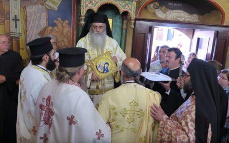 Μητροπολίτης Μόρφου κ. Νεόφυτος: Ο ιερέας και Οικονόμος του ναού του Αγίου Κυπριανού στο Μένικο