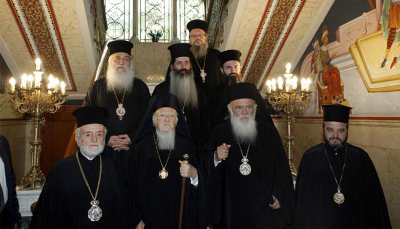 Συνάντηση Αρχιεπισκόπου με τον Οικουμενικό Πατριάρχη