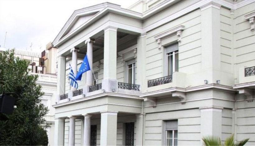 Ανακοίνωση για την σκανδαλώδη απόφαση της κυβέρνησης του Έντι Ράμα εξέδωσε τόσο το ελληνικό υπουργείο Εξωτερικών - ΥΠΕΞ, όσο και η πολιτική οργάνωση της ελληνικής μειονότητας της ΒόρειαςΗπείρου στην ΑλβανίαΟΜΟΝΕΙΑ .