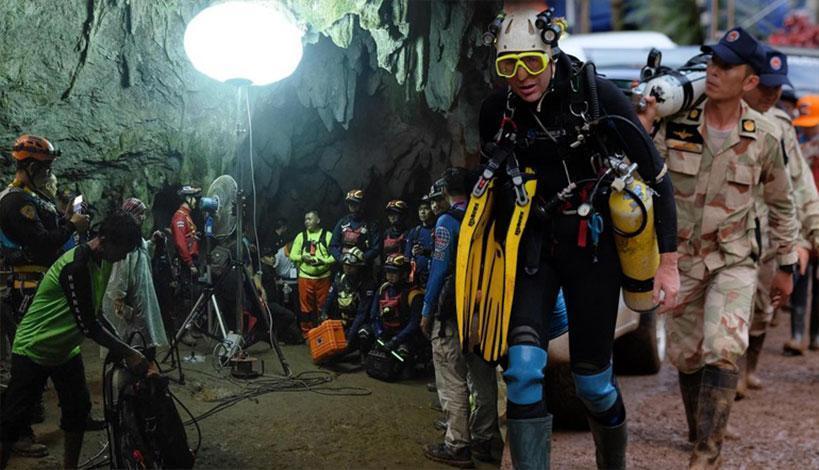 Έσωσαν και όγδοο παιδί από το σπήλαιο της Ταϊλάνδης