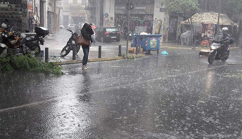 Με βροχές, καταιγίδες και ισχυρούς βοριάδες στο Αιγαίο ο καιρός σήμερα