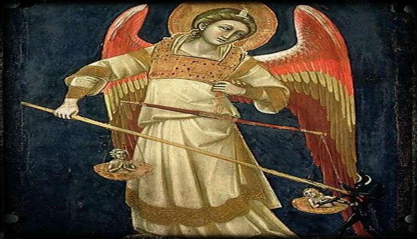 Η ζυγαριά της ψυχής του και ο άγγελος