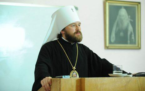 Μητροπολίτης Βολοκολάμσκ Ιλαρίωνας: Η σημερινή κατάσταση απειλεί με σχίσμα την Οικουμενική Ορθοδοξία