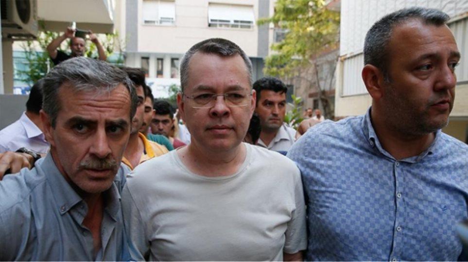 Απελευθερώνεται ο πάστορας Άντριου Μπράνσον