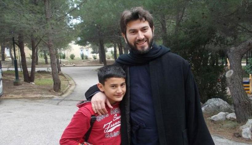 Ο πατήρ Αντώνιος κέρδισε το Βραβείο του Ευρωπαίου Πολίτη 2018