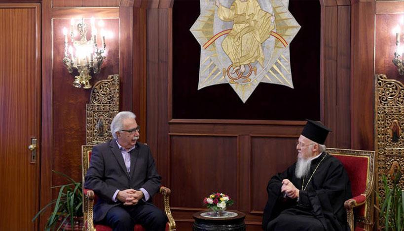 Στο Φανάρι εσπευσμένα ο Γαβρόγλου για εξηγήσεις περί της συμφωνίας Τσίπρα - Ιερώνυμου
