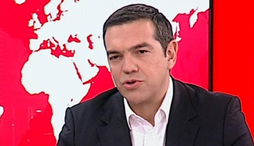 Συνέντευξη του πρωθυπουργού Αλέξη Τσίπρα στην τηλεόραση του Alpha