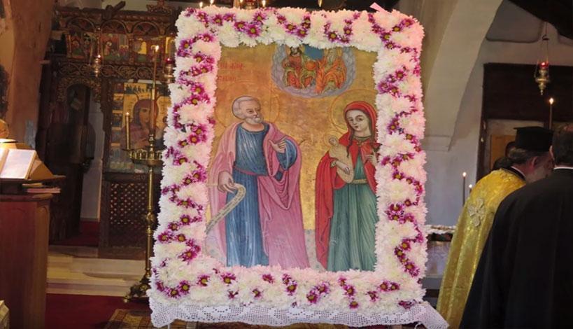 Μητροπολίτης Μόρφου Νεόφυτος: Το ζευγάρι των Θεοπατόρων Ιωακείμ και Άννης, ο γάμος και τα παιδιά