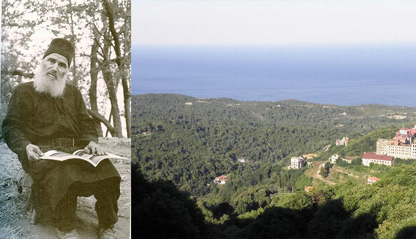 Ο Γέρων Φανούριος ο Καψαλιώτης.  Μια σπάνια αγιορειτική μορφή