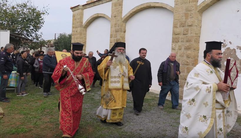 Μητροπολίτης Μόρφου κ. Νεόφυτος: Ρωμαίικος λόγος σε μια κατεχόμενη κοινότητα της Μόρφου