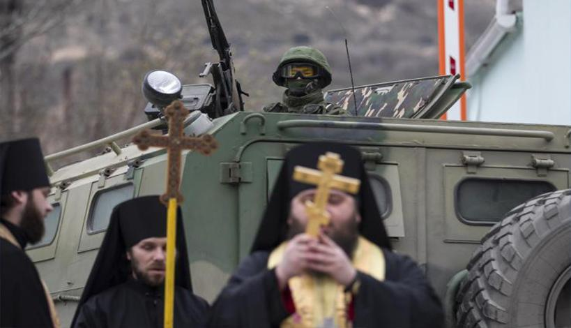 Πούτιν κατά Βαρθολομαίου για Ουκρανική Εκκλησία - Δικαίωμα της Μόσχας η εισβολή στην Κριμαία