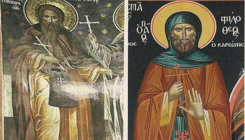 Άγιον Όρος: Άγιοι εορτάζοντες την 5η Δεκεμβρίου