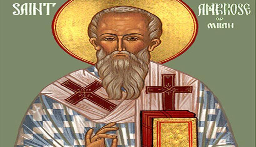 Ορθόδοξος Συναξαριστής 7 Δεκεμβρίου 2018, Άγιος Αμβρόσιος επίσκοπος Μεδιολάνων, βίος και Ευαγγέλιο της ημέρας