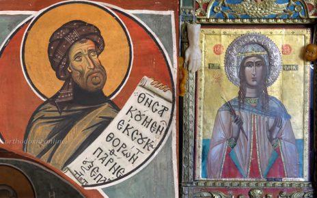 Μητροπολίτης Μόρφου Νεόφυτος: Η αγάπη στην Αγία Τριάδα της αγίας Βαρβάρας και του αγίου Ιωάννη του Δαμασκηνού
