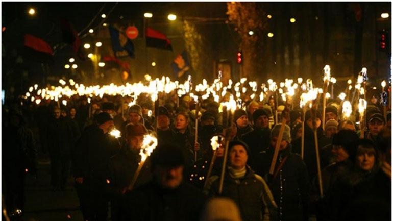 Εορταστικές εκδηλώσεις για συνεργάτη των Ναζί στην Ουκρανία
