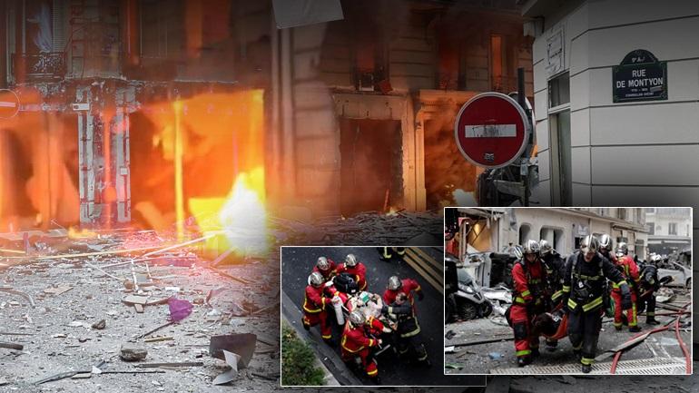 Έκρηξη με τραυματίες στο Παρίσι - Δείτε εικόνες
