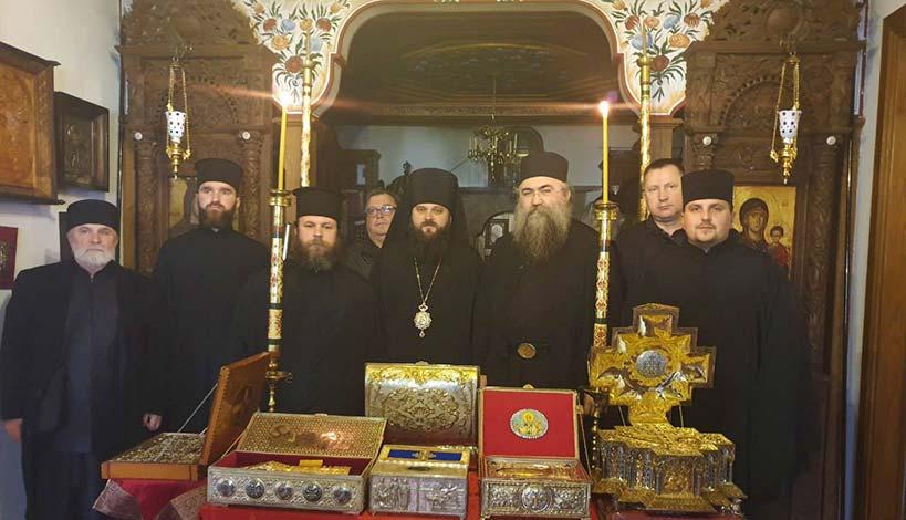 Επίσκοπος της νέας Αυτοκέφαλης Εκκλησίας της Ουκρανίας επισκέφθηκε το Άγιον Όρος