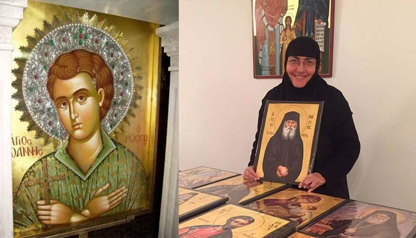 Μοναχή Σωφρονία - Ο άγιος Ιωάννης ο Ρώσος μας έσωσε από βέβαιο θάνατο