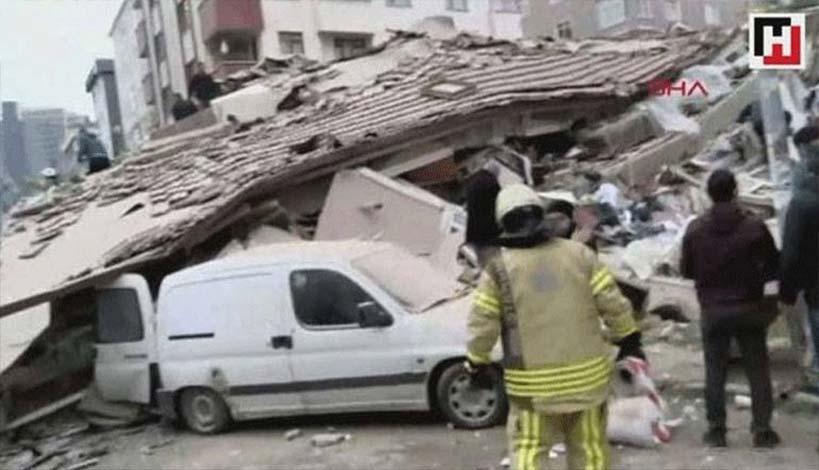 Κατέρρευσε εξαώροφο κτήριο στην Κωνσταντινούπολη - Ένας νεκρός